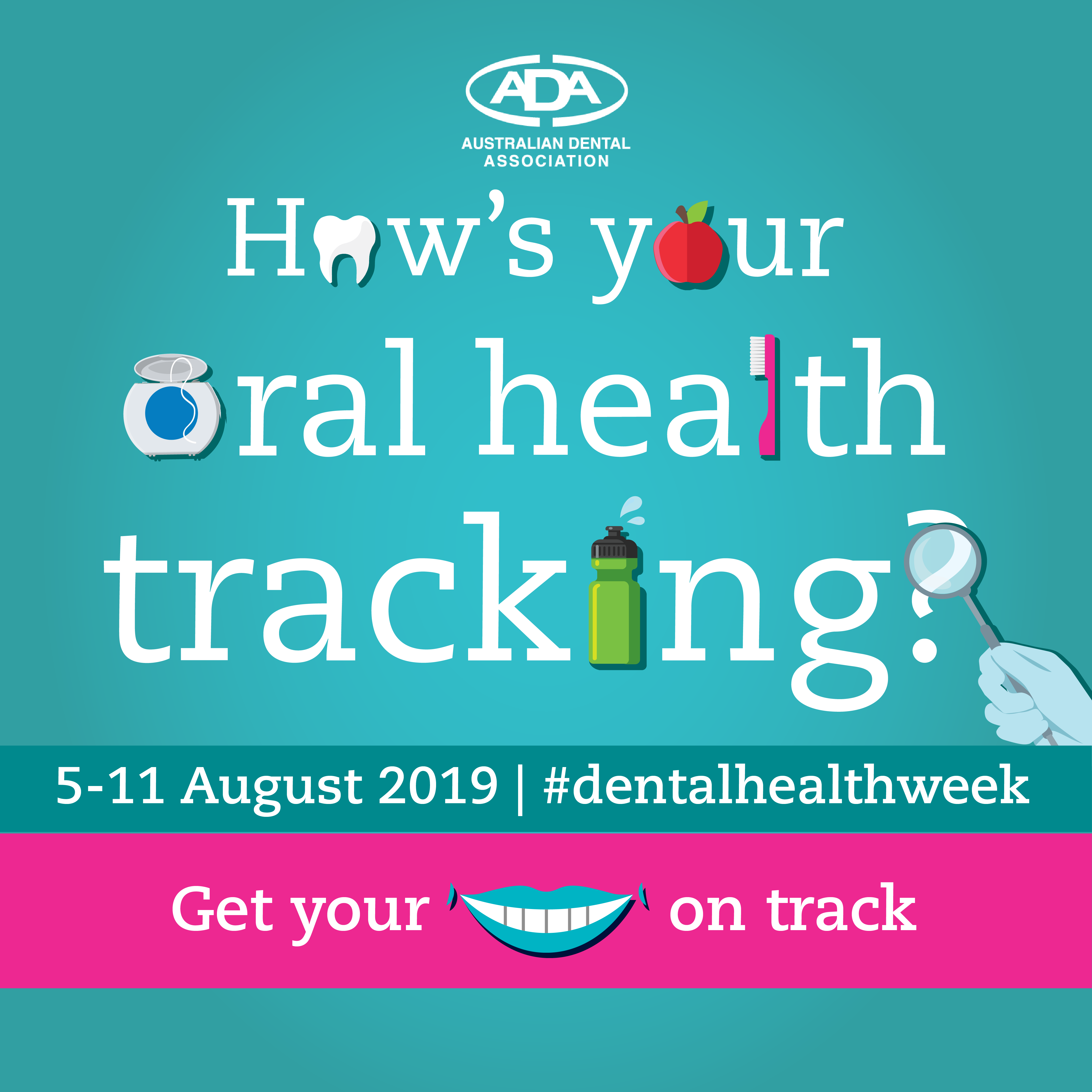 Image: Dental Health Week 2019: How's your Oral Health Tracking?